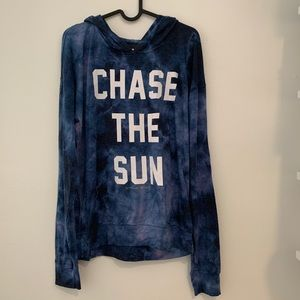 SG 'Chase The Sun' Graphic Hoodie Tie Dye